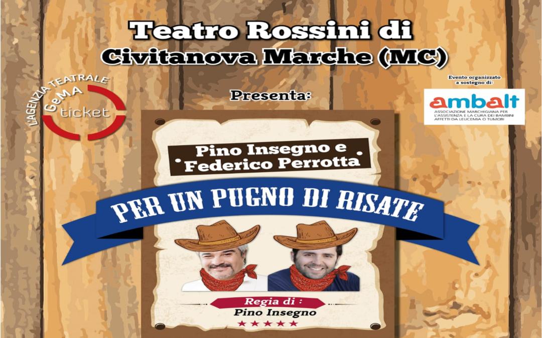 """""""Per un Pugno di Risate""""  Regia di Pino Insegno"""